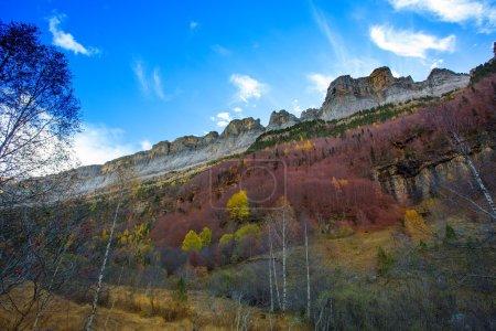 Faja de Pelay in Ordesa valley Pyrenees Huesca Spain