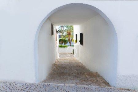 Altea old village in white typical Mediterranean at Alicante