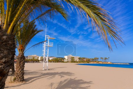 Javea Xabia playa del Arenal in Mediterranean Spain