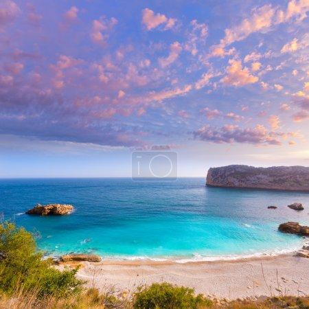 Javea Playa Ambolo beach Xabia in Alicante