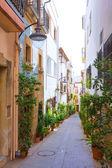 Javea Xabia old town streets in Alicante Spain