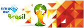 Polygon color background with hands symbol Brasil Fifa world cup