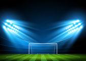 Soccer arena stadium