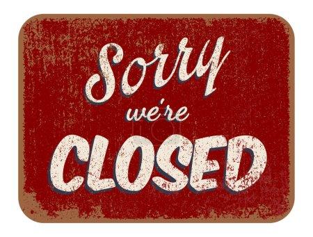 Désolé, nous sommes fermés