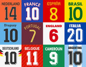 Football jersey numbers