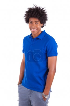 Portrait of a young african american man - Black