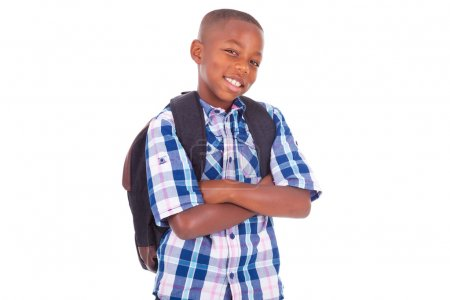 African American school boy - Black people