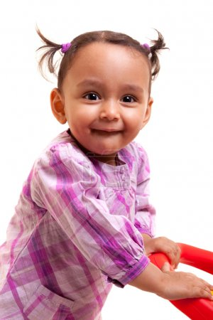 Cute little african american baby girl- Black people