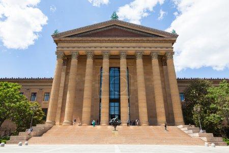Philadelphia art museum entrance - Pennsylvania - USA