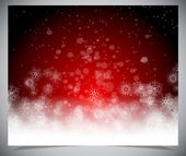 Abstract simple red winter backgound Vector background