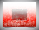 Abstract simple light winter backgound Vector background