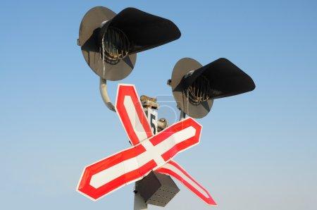 Traffic-light in winter