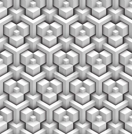 Illustration for Seamless pattern of blocks - Royalty Free Image