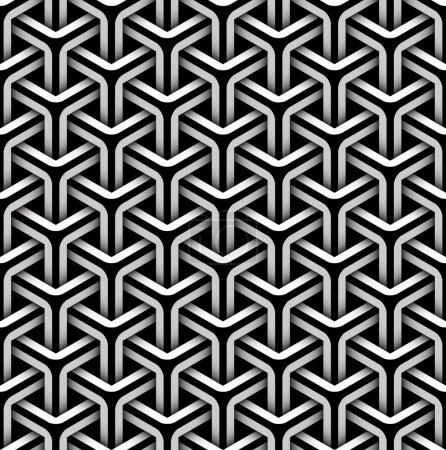 Illustration for Seamless pattern of gray blocks - Royalty Free Image