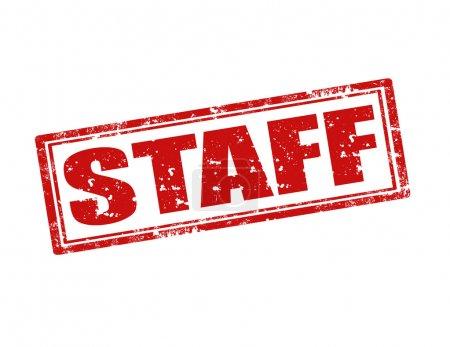 Staff-stamp