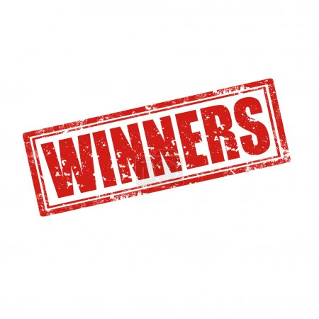 Winners-stamp