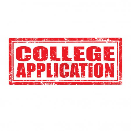 College Application-stamp
