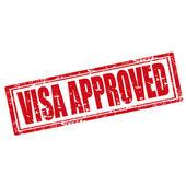 Visa Approved-stamp