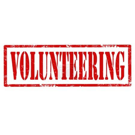Volunteering-stamp