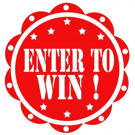 Enter To Win!-label