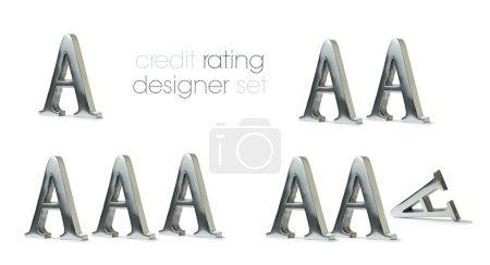 Credit Rating Designer Set