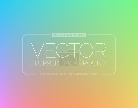 Illustration for Abstract blur background with place for your text - Royalty Free Image