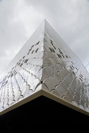 abstract detail of modern building