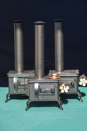 Miniature classic household furnaces