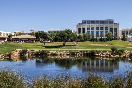 Golf course in the Algarve