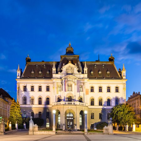 University of Ljubljana, Slovenia, Europe.