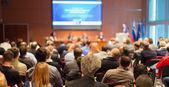 Közönség a konferencia teremben