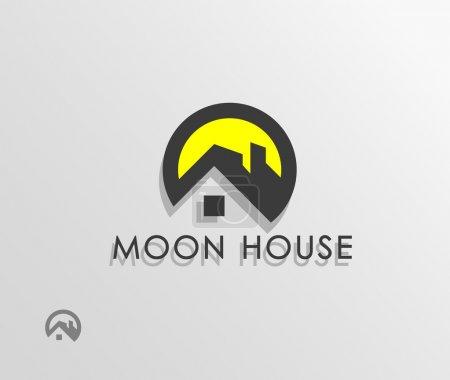 Illustration pour Symbole de la maison - image libre de droit