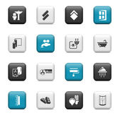 Home renovation icons Buttons