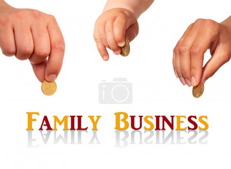 Family business concept.