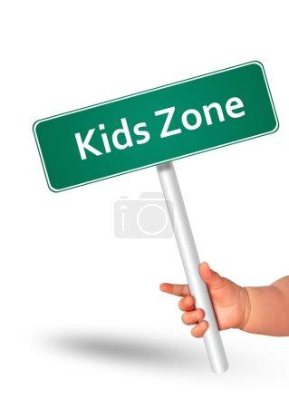 Kids zone.