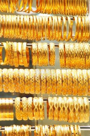 Gold jewelry in grand bazaar