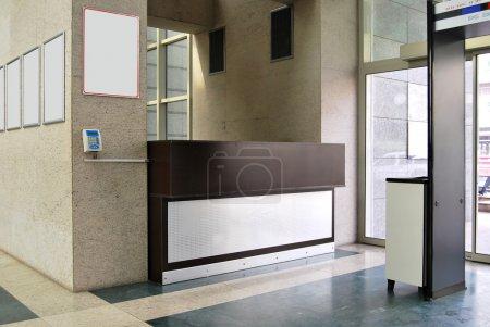 Photo pour Hall d'entrée et réception vides - image libre de droit