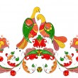 Decorative ancient pagan pattern traditional for n...