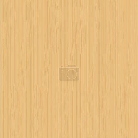 Illustration pour Texture bois léger - image libre de droit