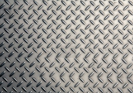 Photo for Seamless steel diamond plate texture - Royalty Free Image