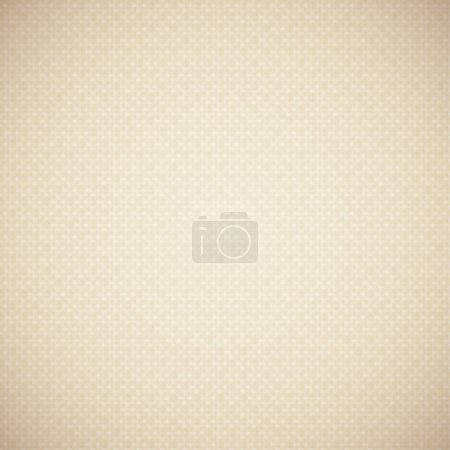 Illustration for Beige canvas texture, vector eps 10 background - Royalty Free Image