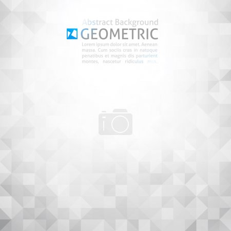 Photo for Vector geometric abstract background - Royalty Free Image