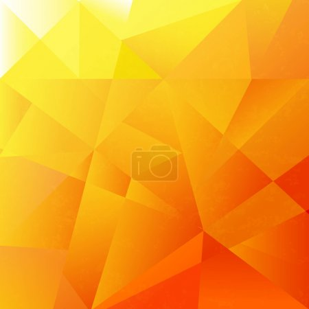 Illustration for Abstract Orange Background, Vector Illustration - Royalty Free Image