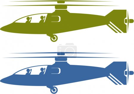Helicopters choppers S