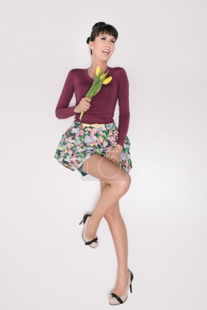 Fashion retro spring style