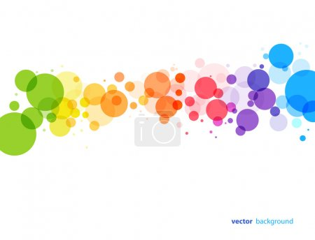 Illustration for Colourful abstract background. Vector illustration. - Royalty Free Image