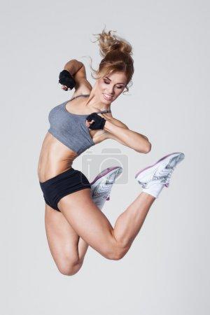 Aerobics jump
