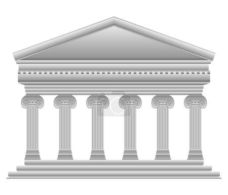 Ionic Greek temple