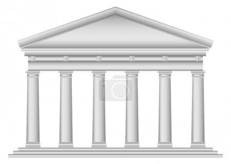 Tuscan Roman temple