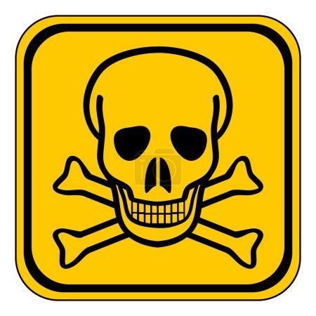 Deadly danger sign